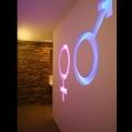 Контурная LED подсветка стен