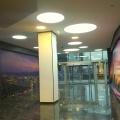 Тыльная засветка кругов на потолке