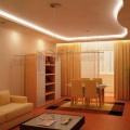 проект контурной подсветки в гостинной