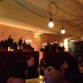 Подсветка стен в баре