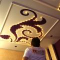 Монтаж потолка в спальне