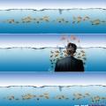 Вариант iWall Рыбки