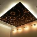 Парящий потолок в салоне красоты