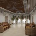 Потолок в зале