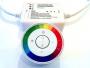 Комплаект: Сенсорный радиопульт + RGB Контроллер-приемник
